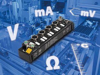 Analogowe ultrakompaktowe moduły serii TBEN-S
